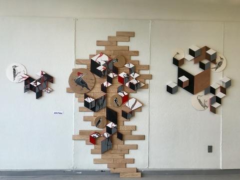 Residency 3 at NHIA wall display